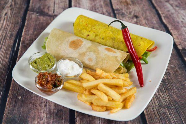 Burrito sin carne