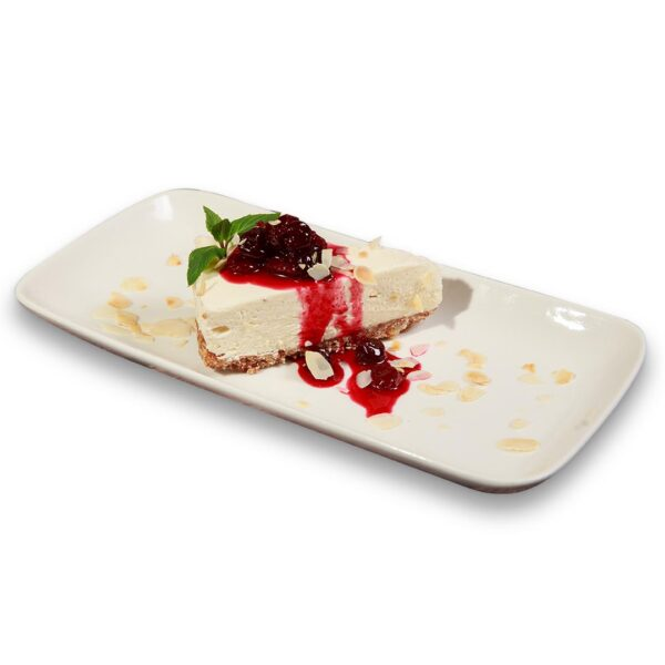 Чийзкейк с бял шоколад и вишни в мексикански ресторант Сомбреро 2