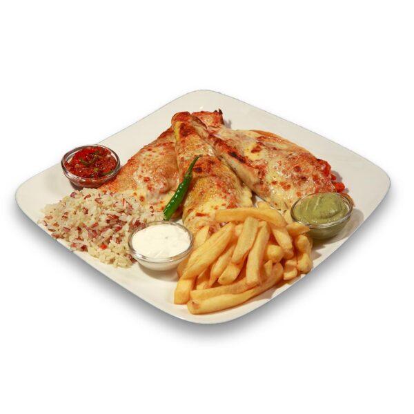 Енчиладас Панчо Виля в мексикански ресторант Сомбреро 2