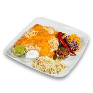 Енчиладас грандес в мексикански ресторант Сомбреро 2