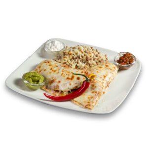 Енчиладас с телешко и зеленчуци в мексикански ресторант Сомбреро 2