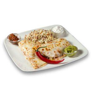 Енчиладас със свинско и гъби в мексикански ресторант Сомбреро 2