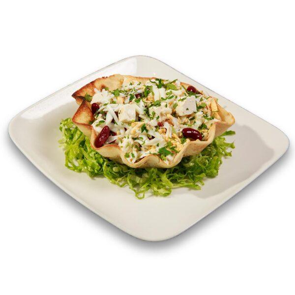 Енсалада де Фрихолес в мексикански ресторант Сомбреро 2