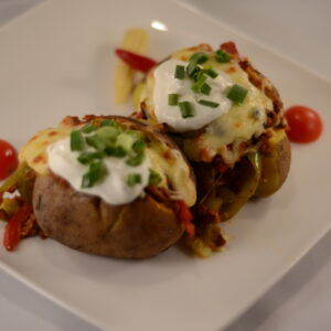 Картоф с Чили кон Карне