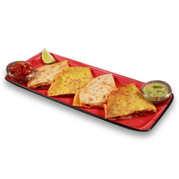 Кесадия Трес карне в мексикански ресторант Сомбреро 2
