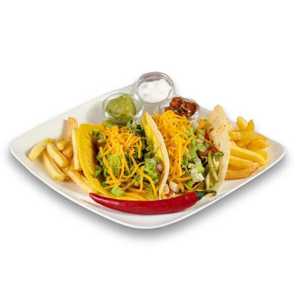 Пилешки Такос в мексикански ресторант Сомбреро 2