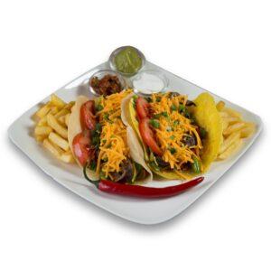 Свински Такос в мексикански ресторант Сомбреро 2