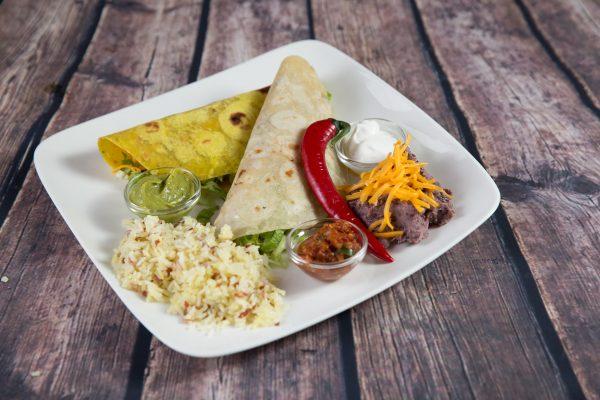 Tacos con Aroz