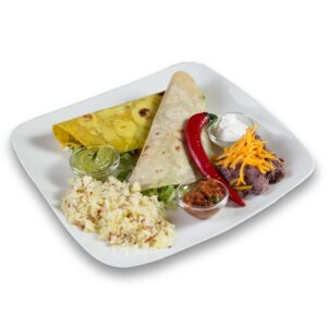 Такос кон ароз в мексикански ресторант Сомбреро 2