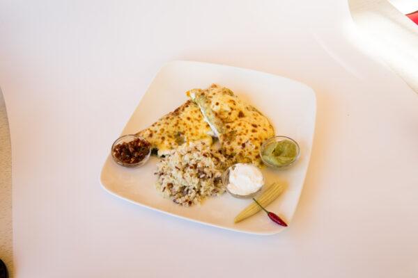 Вегетариански енчиладас