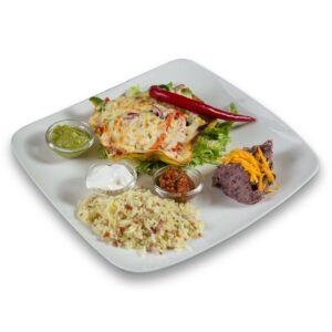 Вегитариански канкун в мексикански ресторант Сомбреро 2