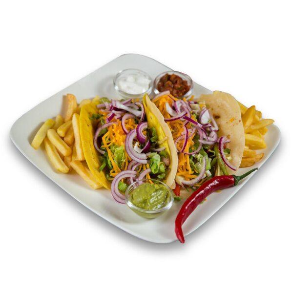 Телешки такос в мексикански ресторант Сомбреро 2