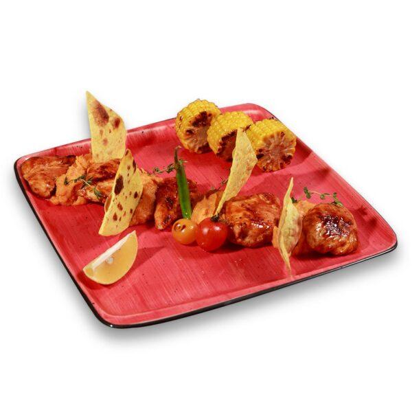 Пилешки филенца на плоча в мексикански ресторант Сомбреро 2