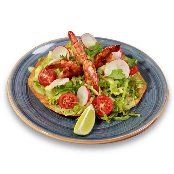 Тостада де Камарон в мексикански ресторант Сомбреро 2
