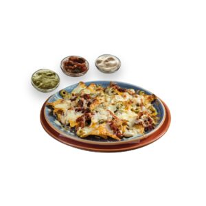 Начос син карне в мексикански ресторант Сомбреро 2