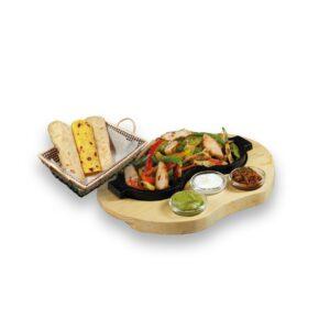 Фахитас пилешки в мексикански ресторант Сомбреро 2