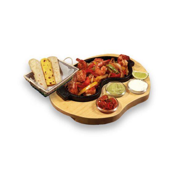Фахитас със скариди в мексикански ресторант Сомбреро 2