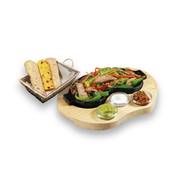 Фахитас свински в мексикански ресторант Сомбреро 2